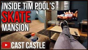 Inside Tim Pool's INSANE Million Dollar SKATE MANSION
