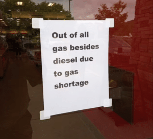 Gas Stations SHUTTING DOWN, Shortage hits, Revolution Is In The Air