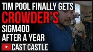 Tim Pool FINALLY Gets The SigM400 Steven Crowder Sent A YEAR AGO