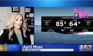 WATCH: CBS Meteorologist Announces She is Working With Project Veritas During Live Weather Report