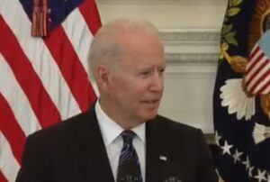 WATCH: Biden Says Patriots Who Want Weapons to Take On US Gov Would Need 'F-15s and Maybe Some Nuclear Weapons'