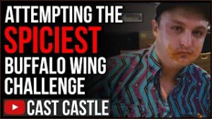 Attempting The SPICIEST WING Challenge