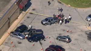 Two Baltimore Police Officers on US Task Force Shot By Murder Suspect Outside Mall
