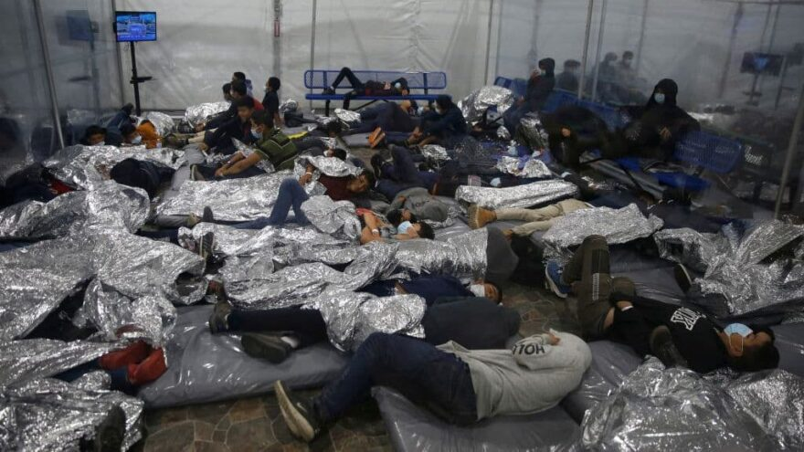 Whistleblowers Accuse Biden HHS Of 'Deliberately Downplaying' COVID Level At Migrant Children Sites
