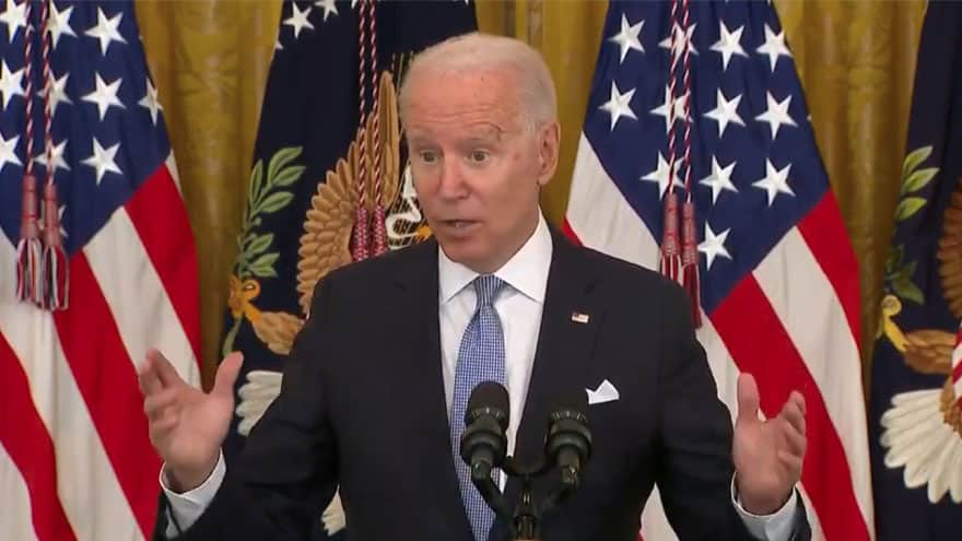 INVOLUNTARY INJECTIONS? Biden Says 'I Don't Know Yet' About Mandatory Vaccines for the 'Whole Country'