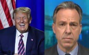 Trump Mocks CNN's Jake Tapper For Losing 75 Percent of His Audience in Six Months