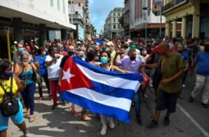Biden Admin Faces Backlash For Claiming Cuban Protests Over COVID Cases