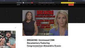CNN Video Leak Catches AOC Is MASSIVE LIE, CNN Complicit In AOC Lying About Jan 6th
