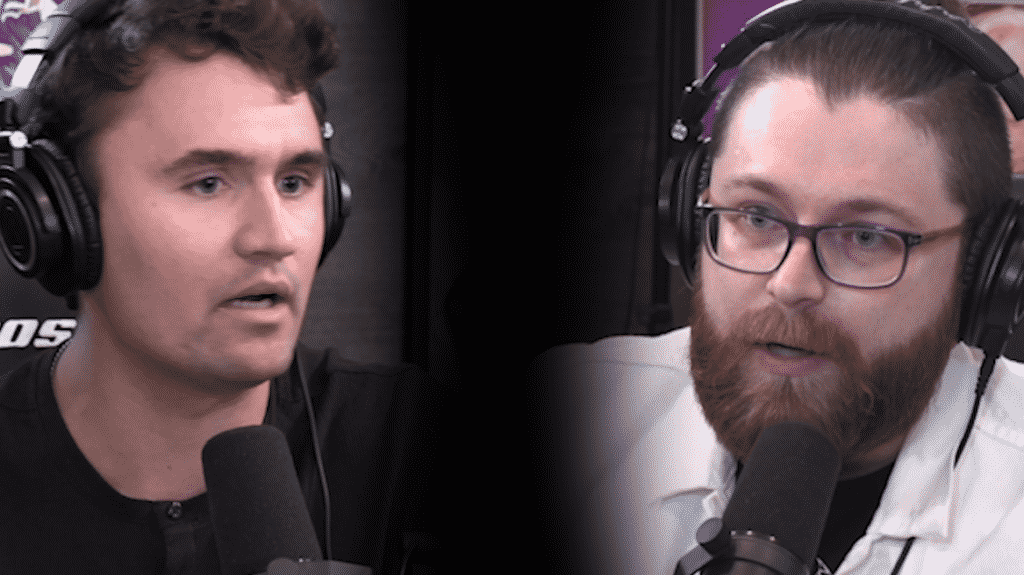 Vaush And Charlie Kirk Extended Debate: Discussing Religion, How Wokeism Is A Non-Theistic Religion, What Is Socialism