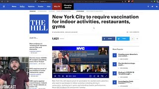 NYC Announces Mandatory Vaccination For Most Indoor Activities, Vaccines Mandates Likely To Expand