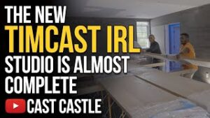 The New Timcast IRL Studio is Almost Complete