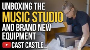 Unboxing The Music Studio And Brand New Equipment