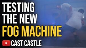 Testing The New Fog Machine At The Cast Castle