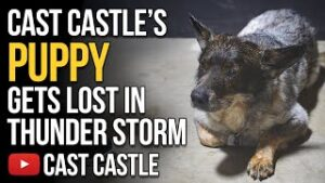 Cast Castle's Puppy Dog Gets Lost In A Thunderstorm & Opening Fan Mail