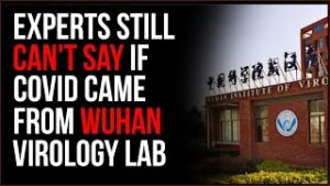 US Intel Says COVID Leaked From Lab In Wuhan MAYBE, But Still Nothing Definitive