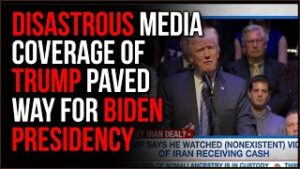 Disastrous Media Coverage Painted EVERY Trump Action As Catastrophic, Gave Us BIDEN