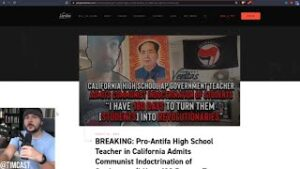 Project Veritas EXPOSES Teacher Indoctrinating Kids Into Communism, This Is Why CA Is A Failed State