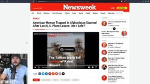 American PANICS Learning Biden Abandoned Her, Admin LIED That Americans Chose To Stay In Afghanistan