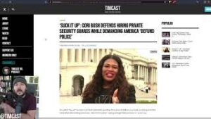 Democrat Cori Bush Says SUCK IT UP After Spending $70k On Security While Trying To Defund the Police