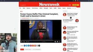 Andrew Cuomo Faces ARREST After Female Staffer Files Criminal Complaint, CNN Caught In Scandal