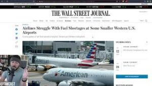 Airlines Cancel Flights EN MASSE Due To Shortages, The Economy Is Failing And Its Time To Wake Up
