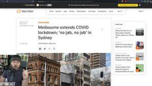 Nurse Secretly Gave Elderly Saline INSTEAD Of COVID Vaccine, Sydney Deploys MORE Soldiers To Enforce