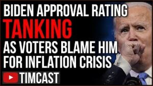 Biden Approval TANKS As Nearly 80% Blame Him For Inflation Surge, Media EXPOSED Lying To Defend Him