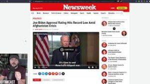 Biden Admin AWOL During Afghanistan, Kabul Crisis, White House Allegedly Posts Fake Photo Of Biden