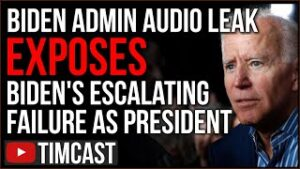 Leaked Audio From Biden Admin EXPOSES Unmitigated Disaster And Failure Of Democrat And Biden Policy