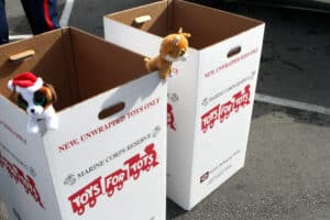 Toys For Tots Preparing for Shortages Due to Supply-Chain Gridlock
