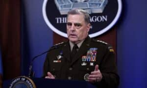 Trump Says That if 'Dumb-ss' Gen. Mark Milley Worked With China He Should Be Tried for Treason