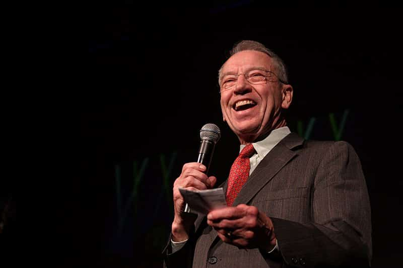 Chuck Grassley Will Seek His Eighth Re-election to the Senate