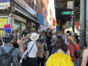 EXCLUSIVE VIDEO: Protestors Gather In Brooklyn Following Violent Attack on Gay Man