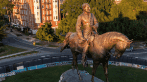 General Robert E. Lee Statue Removed From Richmond, VA