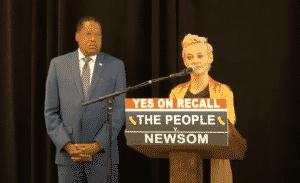 Me Too Activist Rose McGowan Endorses Larry Elder in California Recall