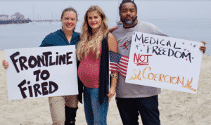 INTERVIEW: Pregnant CA Nurse Would Rather Quit than Take COVID Vaccine: 'There's Something Wrong with This Picture'