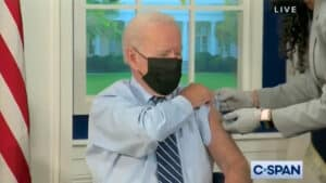 WATCH: Biden Claims Up to 98% of Americans Must Get Vaccinated Before 'Return to Normal'
