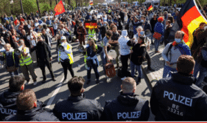Facebook Removes Accounts from German Anti-Lockdown Group