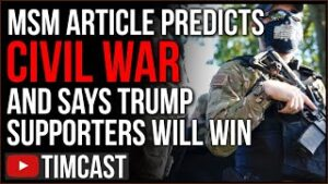 Historian Says CIVIL WAR Is Coming And Trumpists Will WIN, New Hampshire Reps File To Secede From US