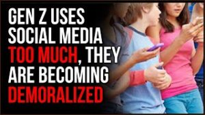 Gen Z Gets Mean And Combative Online, Younger Generations Are Being DEMORALIZED