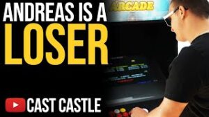 Andreas Loses The Cast Castle Arcade High Score Contest