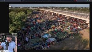 Democrats Falsely Claim Border Patrol WHIPPING Migrants As Haitian Crisis ERUPTS Into Tent City