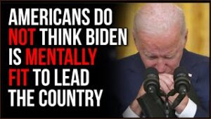 MAJORITY Of Americans Don't Believe Biden Is Mentally Stable To Lead, CNN Argues It's Just GOP Slant