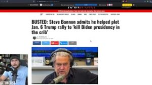 Democrats Push INSANE Lie That Steve Bannon ADMITTED To Plotting Insurrection, Leftists Are Deluded