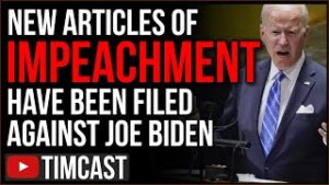 Articles Of Impeachment Filed Against Biden, GOP Reps Cite Democrat Violating Separation of Powers