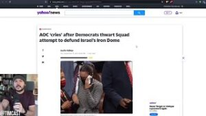 AOC CRIES After Nearly ENTIRE House Votes Against Her, But Its A LIE, AOC Actually Sided With Pelosi