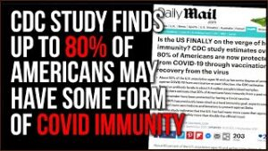 Survey Finds More Than 80% Of Americans May Have Covid IMMUNITY, Naturally Or Via Vaccination