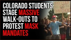 Colorado Students Stage Walk-Out At Multiple Schools To Protest Mask Mandates