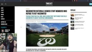 MLB Team FIRES Workers Who Refused Vaccine, Satanic Temple SLAMS TX Law But Ignores Vaccine Mandate