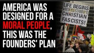 MORAL People Are Required For A Lasting Culture, This Is What The Founding Fathers Planned For